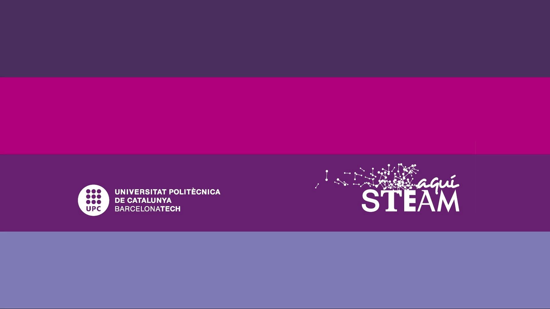 El programa Aquí STEAM UPC sota la mirada científica de Clara Prats