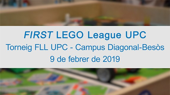 Torneig FIRST LEGO League a l'EEBE de la UPC 2019