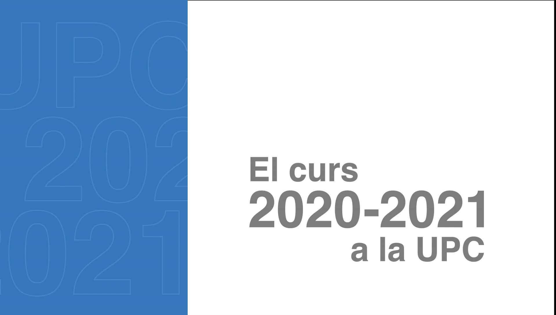 La UPC avui, curs 2021-22