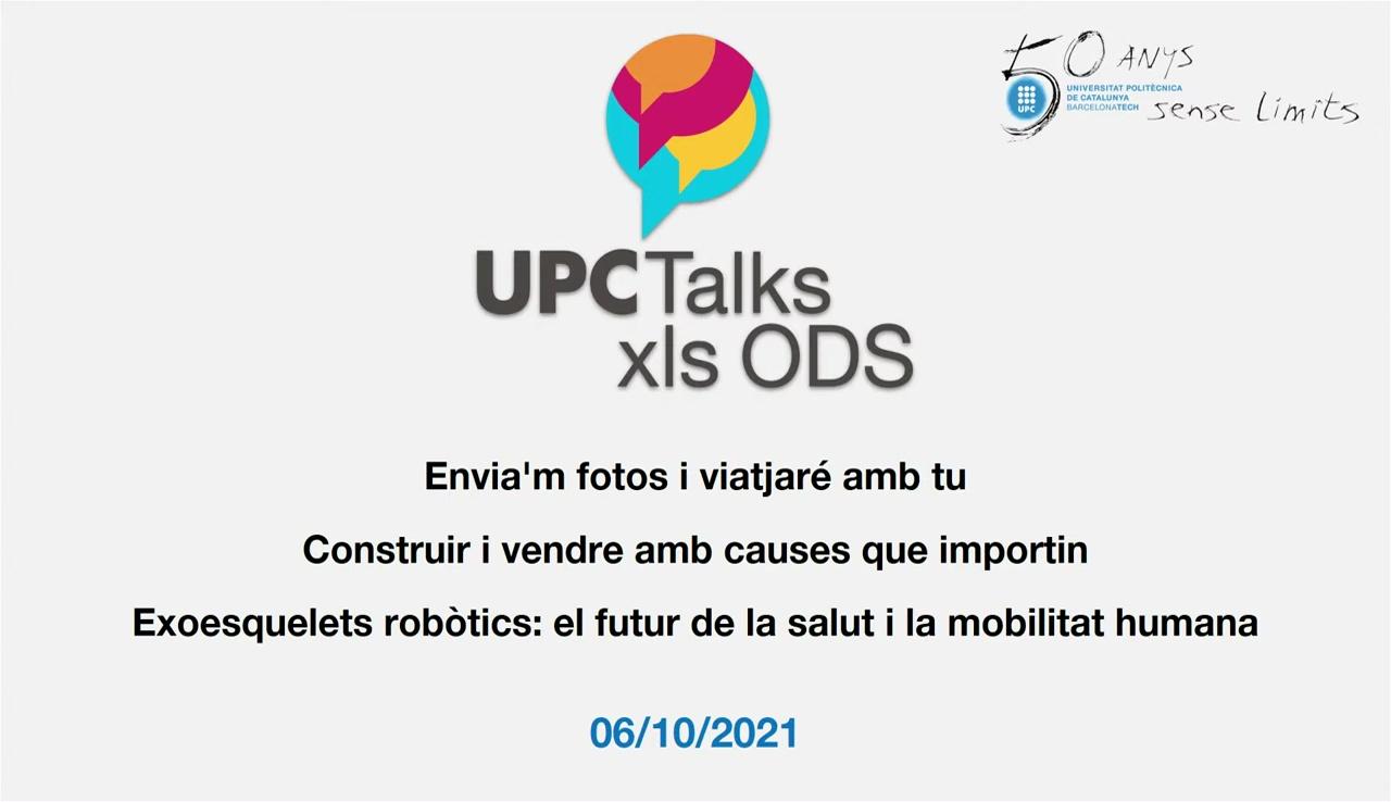 UPCTalks pels ODS: Emprèn UPC