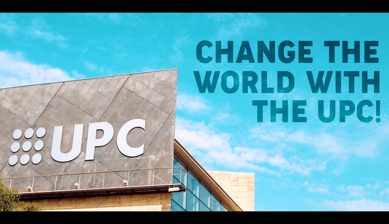 Change the world with the UPC. It's your turn now!