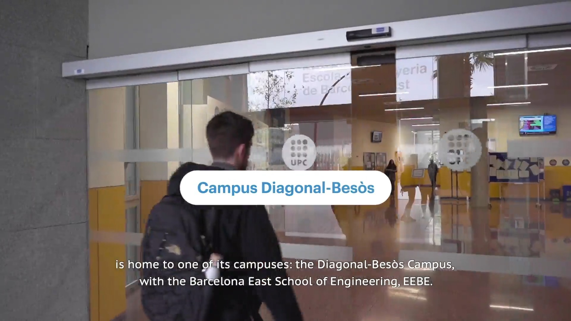 Presentation of Barcelona East School of Engineering (EEBE) at UPC (version with subtitles)