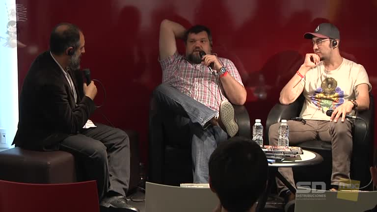 CCT-2016-05-07- Face to face with Esac Ribic and Mahmud Asrar, artists of Marvel